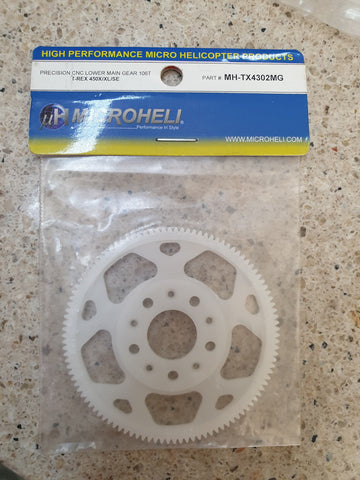 Microheli CNC Lower Main Gear 106T