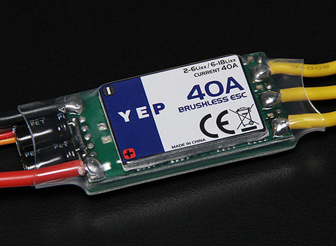 Hobbyking YEP 40A SBEC Brushless Speed Controller