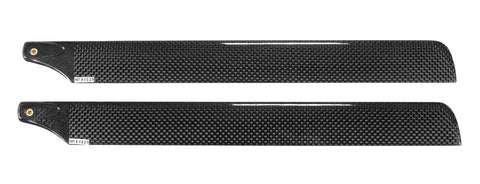 325mm Carbon Rotor Blades (Black)