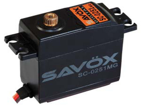 Savox SC-0251MG Metal Gear Digital Servo