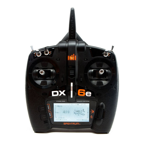 DX6e - 6 Channel DSMX® Transmitter with AR610
