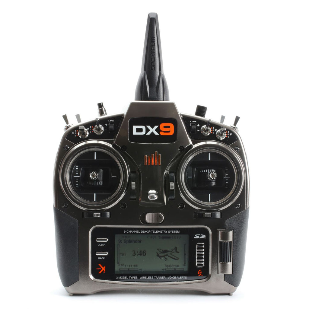 DX9 9-Channel DSMX® Transmitter Only