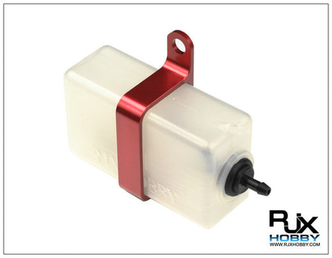 RJX Header Tank Size 60 C.C Assembly with Metal Holder (Red)