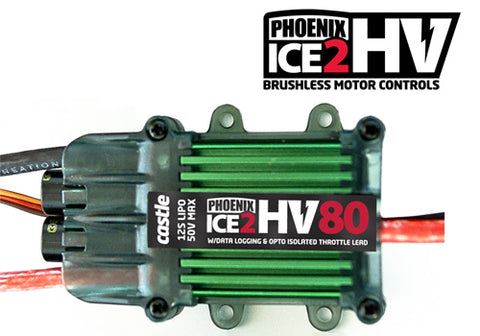 Castle Creations Phoenix ICE2 HV 80 ESC 12S 50V