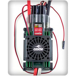 Castle Creations Phoenix Edge HVF 160 with cooling fan