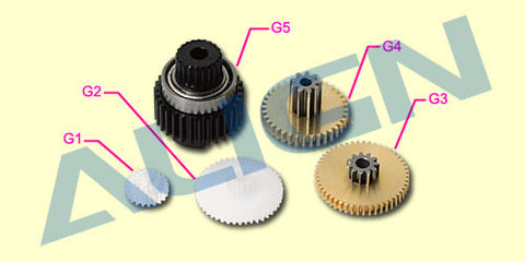 DS410 Servo Gear Set (5pcs)