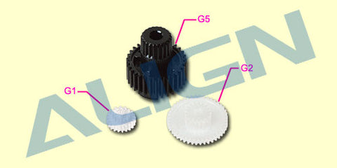 DS420 Servo Gear Set (3pcs)