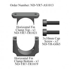 Horizontal Fin Clamp Set, R7