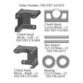 Nitro Pinion Support Set, R7