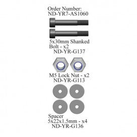 Blade Grip Bolt Set, R7