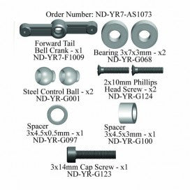 Forward Tail Bellcrank Set, R7
