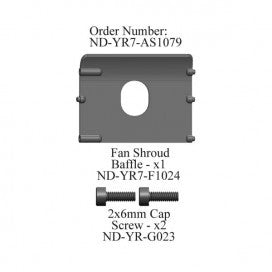 Fan Shroud Baffle Set, R7
