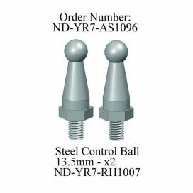 Blade Grip Ball Set 13.5mm, R7