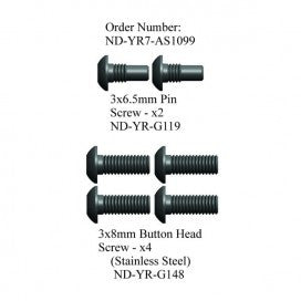 Pin Screw Set, R7