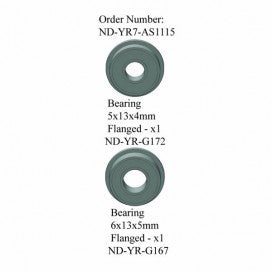 Tail Gear Box Bearing Set