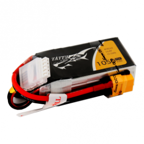Tattu 1050mAh 11.1V 75C 3S1P Lipo Battery Pack