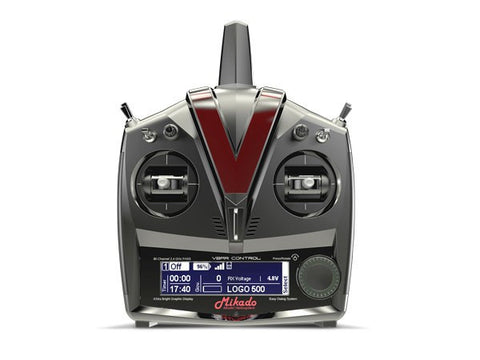 MIKADO VBAR CONTROL RADIO WITH RX-SATELLITE, GREY/BLACK