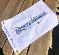 Mako Mania Catch Flag - Fish Tales, Ocean City, MD's best waterfront restaurant and bar.  Coastal Apparel relaxed for the best of beach lovers.