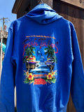 Charter Boat Hoody - Fish Tales, Ocean City, MD's best waterfront restaurant and bar.  Coastal Apparel relaxed for the best of beach lovers.