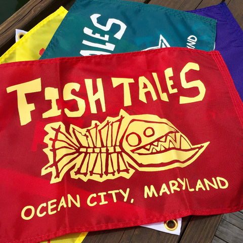 Fish Tales Flag
