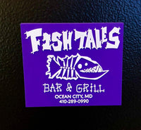 Magnet - Fish Tales, Ocean City, MD's best waterfront restaurant and bar.  Coastal Apparel relaxed for the best of beach lovers.