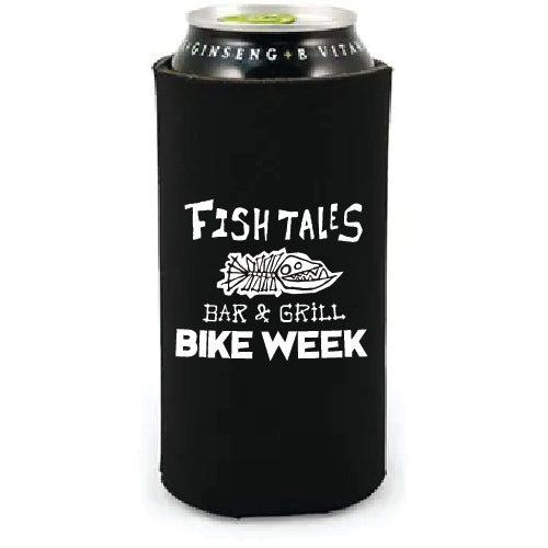 Big Beer Koozie - Fish Tales, Ocean City, MD's best waterfront restaurant and bar.  Coastal Apparel relaxed for the best of beach lovers.