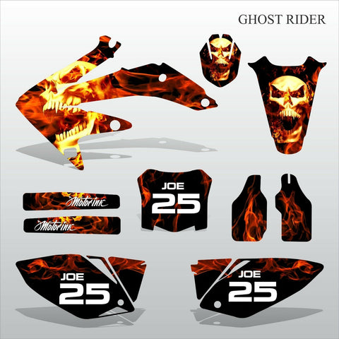 Honda CRF 450 2008 GHOST RIDER motocross decals set MX graphics kit