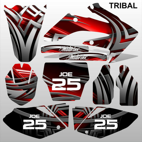 Honda CRF 250 2004-2005 TRIBAL motocross racing decals set MX graphics kit