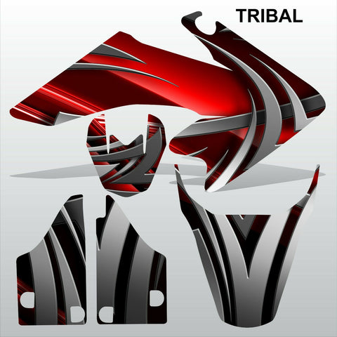 Honda CRF 50 2004-2016 TRIBAL racing motocross decals set MX graphics kit