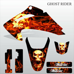 Honda CRF 150-230 2003-2007 GHOST RIDER motocross decals set MX graphics kit