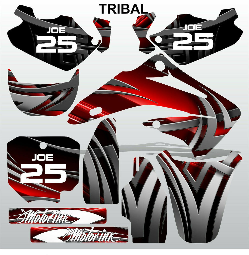 Honda CR85 2003-2012 TRIBAL motocross racing decals set MX graphics stripe kit