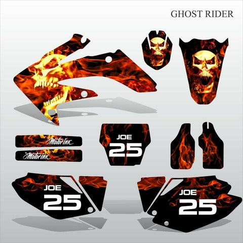 Honda CRF 250 2006-2007 GHOST RIDER motocross decals set MX graphics kit