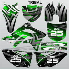 Kawasaki KXF 450 2012-2014 TRIBAL motocross racing decals set MX graphics kit