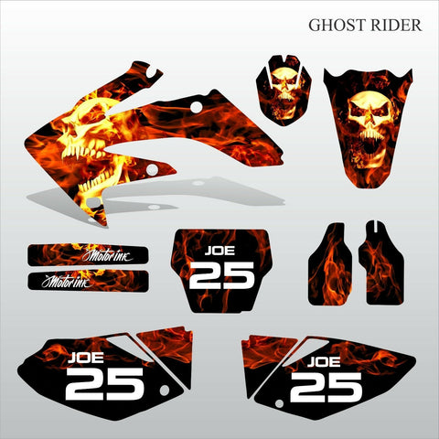 Honda CRF 250 2004-2005 GHOST RIDER motocross decals set MX graphics kit