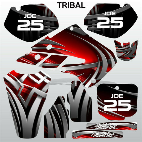 Honda CR125 CR250 1998 1999 TRIBAL motocross racing decals set MX graphics kit