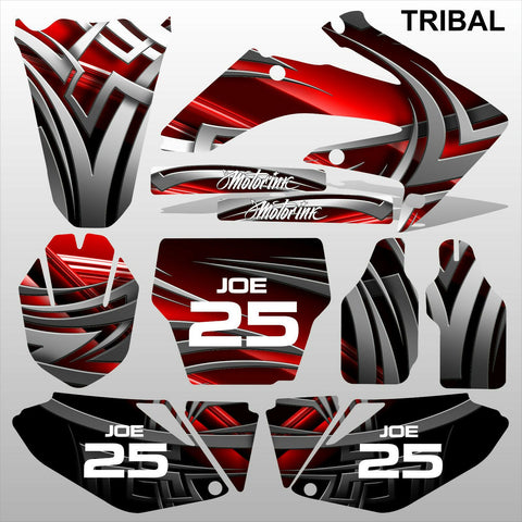 Honda CRF 250 2006-2007 TRIBAL racing motocross decals set MX graphics kit