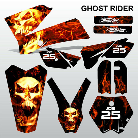 KTM SX 85-105 2006-2012 GHOST RIDER motocross racing  decals set MX graphics