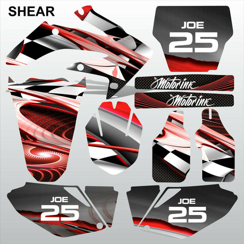 Honda CRF 250 2006-2007 SHEAR racing motocross decals set MX graphics kit