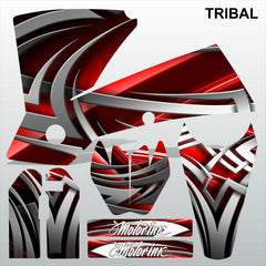 KTM EXC 2004 TRIBAL motocross decals racing stripes set MX graphics kit