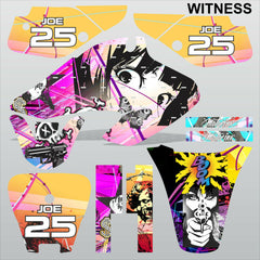 Honda XR 70 2001-2003 WITNESS motocross racing decals set MX graphics stripe kit