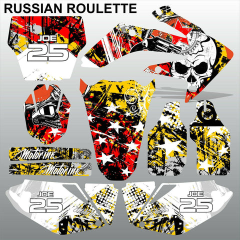 Honda CRF 250 2006-2007 RUSSIAN ROULETTE motocross decals MX graphics kit