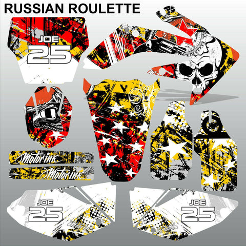 Honda CRF 250 2004-2005 RUSSIAN ROULETTE motocross decals MX graphics kit