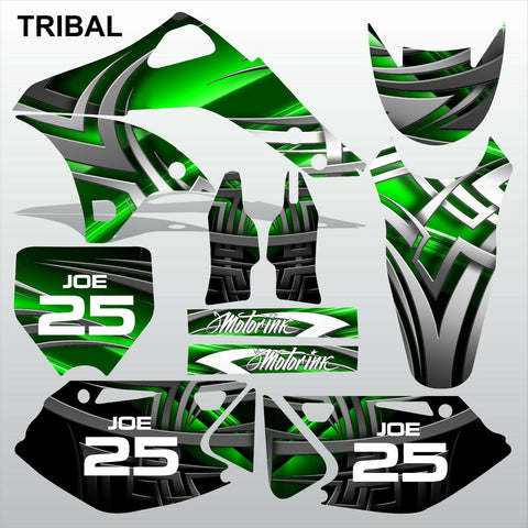 Kawasaki KXF 250 2006-2008 TRIBAL motocross racing decals set MX graphics kit