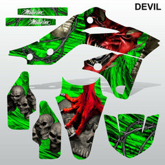 Kawasaki KXF 250 2013-2016 DEVIL PUNISHER motocross decals set MX graphics kit