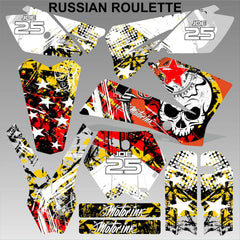 KTM SX 85-105 2006-2012 RUSSIAN ROULETTE motocross racing decals set MX graphics
