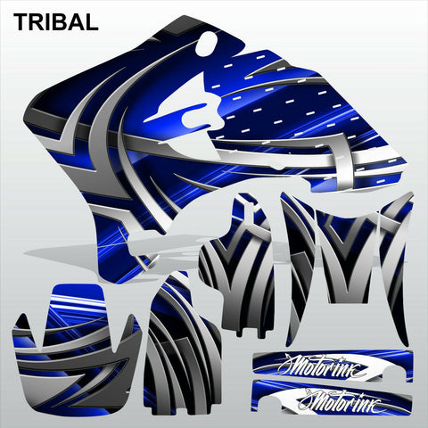 Yamaha WR 250F 450F 2005-2006 TRIBAL motocross decals set MX graphics kit