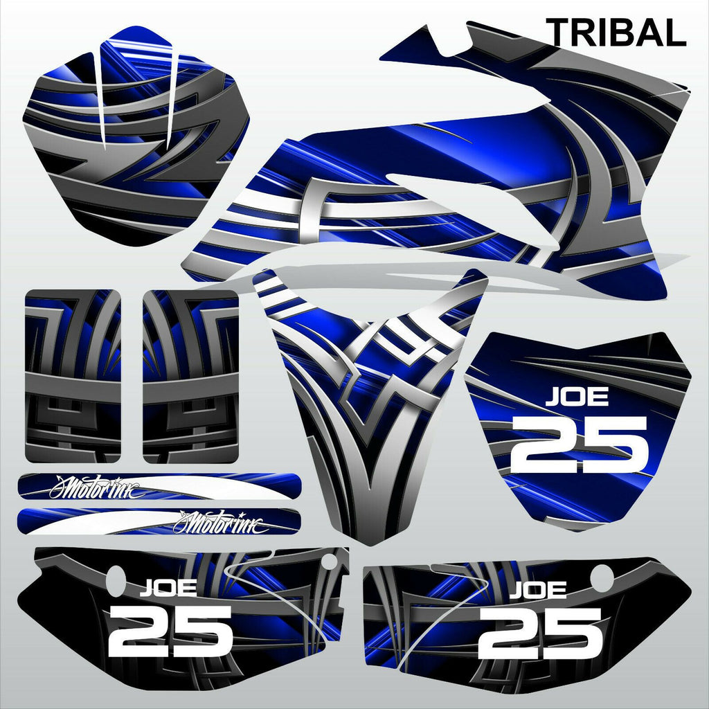 Yamaha TTR 110 2008-2019 TRIBAL motocross racing decals set MX graphics kit