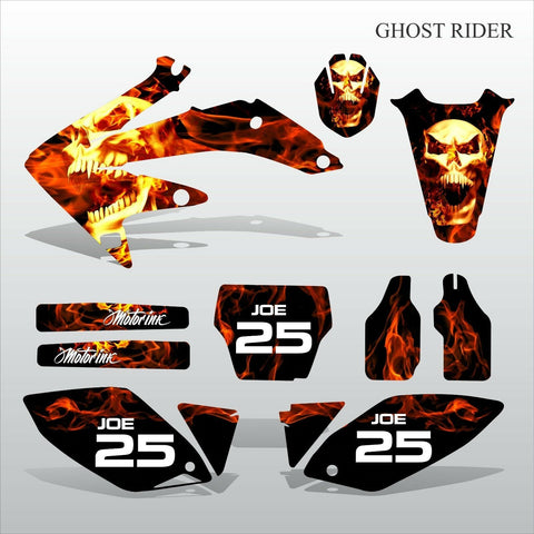 Honda CRF 450 2005-2007 GHOST RIDER motocross decals set MX graphics kit