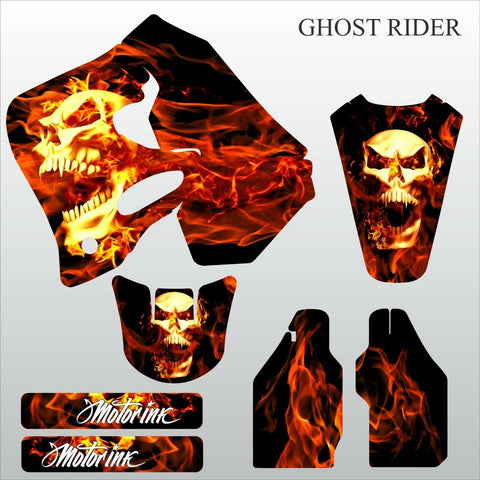 Honda CR125 CR250 1993 1994 GHOST RIDER motocross decals set MX graphics kit