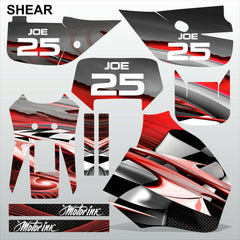 Honda XR650R 1992-1999 SHEAR racing motocross decals set MX graphics kit